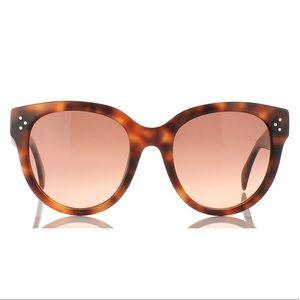 Celine Brown Tortoise Audrey Sunglasses
